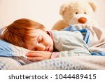 bedtime. happy and funny dreams ... | Shutterstock . vector #1044489415