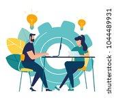 vector illustration internet... | Shutterstock .eps vector #1044489931