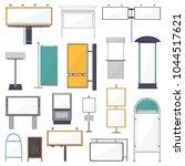 blank advertising vector ad... | Shutterstock .eps vector #1044517621