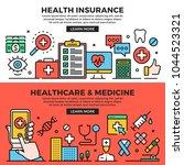 health insurance  healthcare... | Shutterstock .eps vector #1044523321
