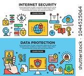 internet security  data... | Shutterstock .eps vector #1044525064