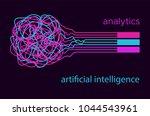 big data vector illustration....   Shutterstock .eps vector #1044543961