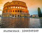Rome  The Majestic Coliseum....