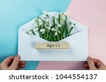 Spring Concept. Envelope With...