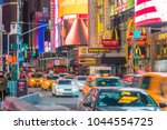new york city   march 9  times... | Shutterstock . vector #1044554725
