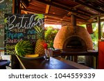 Pizza Oven In Tropical Bar....