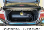 lpg gas tanks are installed in... | Shutterstock . vector #1044560254