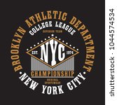 new york city  brooklyn...   Shutterstock .eps vector #1044574534