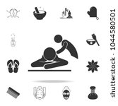 spa massage icon. detailed set... | Shutterstock .eps vector #1044580501