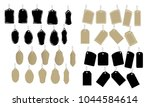 collection of price tag... | Shutterstock .eps vector #1044584614