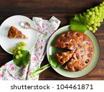 harvest cake with grape | Shutterstock . vector #104461871
