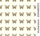 butterfly vector illustration... | Shutterstock .eps vector #1044680251