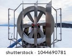 Small photo of air-cushion vehicle, steering propeller
