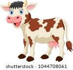 cute cow cartoon    Shutterstock .eps vector #1044708061