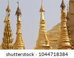buddhist temple complex... | Shutterstock . vector #1044718384