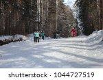 city of zavodoukovsk  tyumen... | Shutterstock . vector #1044727519