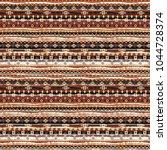 boho style. ethnic seamless... | Shutterstock . vector #1044728374