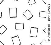 tablet computer seamless... | Shutterstock .eps vector #1044729031