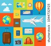 travel concept illustration....   Shutterstock .eps vector #1044732925