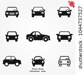 car icons vector | Shutterstock .eps vector #1044737527
