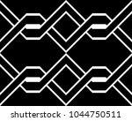 design seamless monochrome... | Shutterstock .eps vector #1044750511