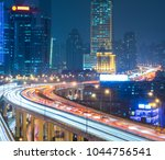 overhead view of elevated... | Shutterstock . vector #1044756541