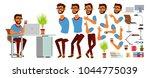 business man character vector.... | Shutterstock .eps vector #1044775039