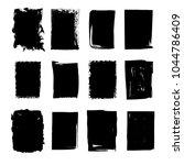 set of hand drawn grunge... | Shutterstock .eps vector #1044786409
