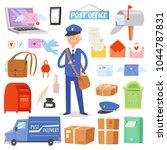 Postoffice Vector Postman...