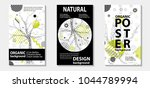 trendy eco style template...   Shutterstock .eps vector #1044789994