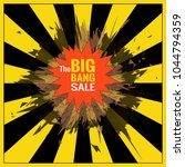 the big bang sale object for... | Shutterstock .eps vector #1044794359