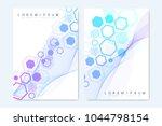 modern vector templates for... | Shutterstock .eps vector #1044798154
