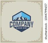 mountain design element in... | Shutterstock .eps vector #1044799657