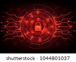abstract background ransomware... | Shutterstock .eps vector #1044801037