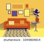 vector illustration of living... | Shutterstock .eps vector #1044804814
