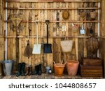 Gardening Tools In The Shed ...