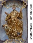Small photo of AMORBACH, GERMANY - JULY 08: Altar dedicated to the Saint Amor in Benedictine monastery church in Amorbach, Germany on July 08, 2017.