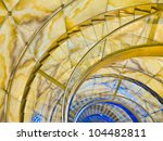 spiral stairs   Shutterstock . vector #104482811