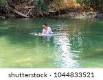 tiberiades  jordan river ... | Shutterstock . vector #1044833521