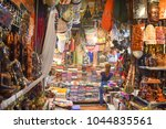 Small photo of Siem Reap, Cambodia-Sep 24, 2017: many souvenir stores at Siem Reap Old Market for tourists or traveller