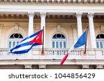cuba   france  flag | Shutterstock . vector #1044856429