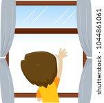 vector illustration of little... | Shutterstock .eps vector #1044861061