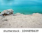 beautiful seashore vacation on... | Shutterstock . vector #1044898639