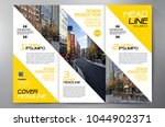 business brochure. flyer design.... | Shutterstock .eps vector #1044902371