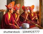 korzok village  tsomoriri ... | Shutterstock . vector #1044925777