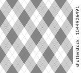 grey argyle seamless pattern...   Shutterstock .eps vector #1044926491