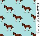 seamless pattern with bay... | Shutterstock .eps vector #1044927799