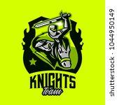 colorful emblem  logo  badge of ... | Shutterstock .eps vector #1044950149