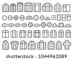 a set of classic and modern... | Shutterstock .eps vector #1044962089