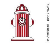 hydrant emergency equipment | Shutterstock .eps vector #1044970249